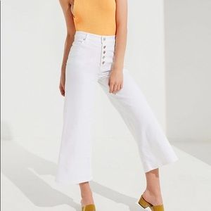 BDG Button-Fly Culottes Jean